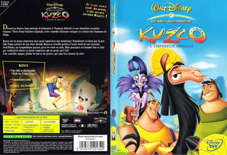 Blog de disneybabyfaceetcie disney baby face et cie - Kuzco dessin anime ...